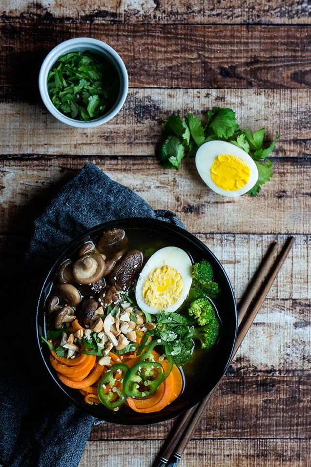 Sweet Potato Noodle Ramen