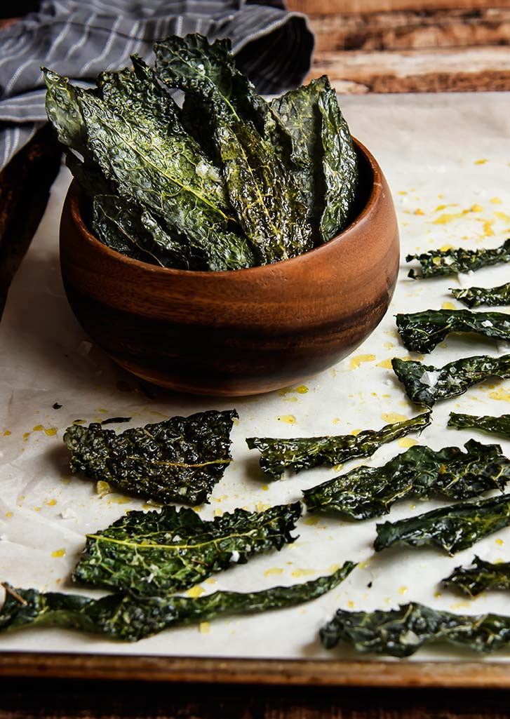 Rosemary & Sea Salt Kale Chips