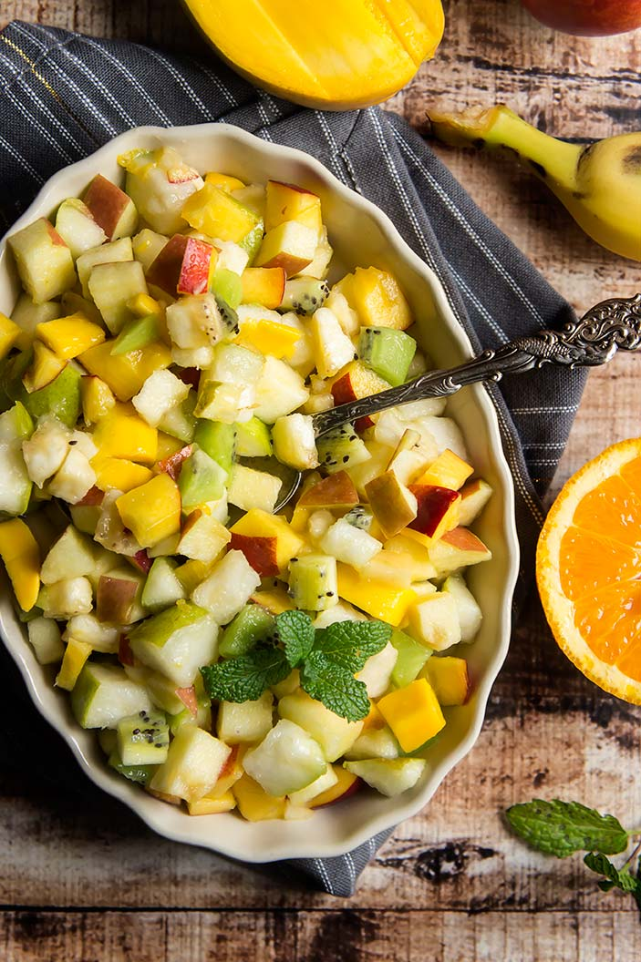 Macedonia de Frutas (Chilean-Style Fruit Salad)