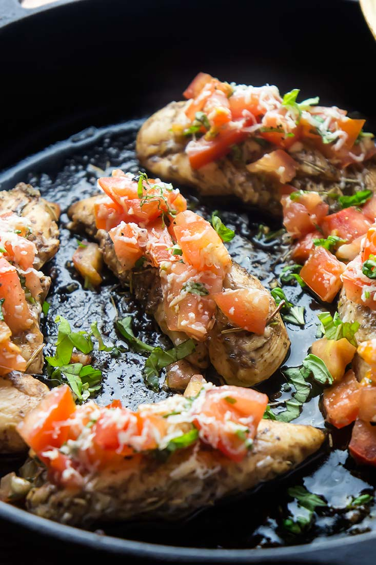 Bruschetta-Topped Chicken