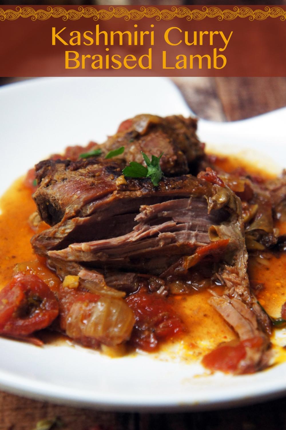 Kashmiri Curry Braised Leg of Lamb — Foraged Dish