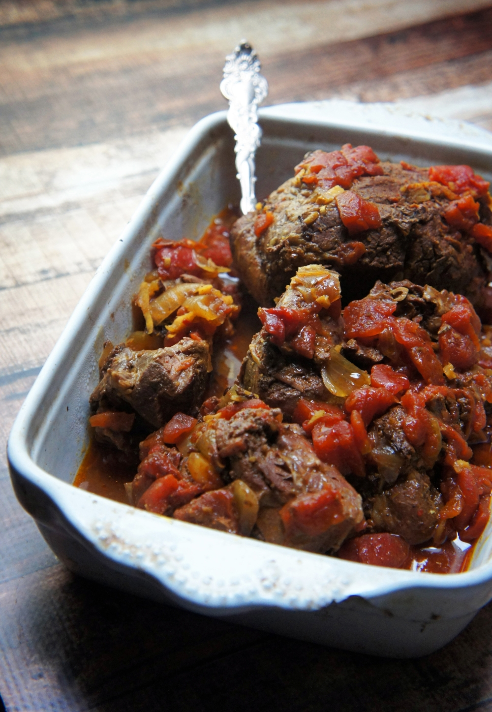 Kashmiri Curry Braised Leg of Lamb