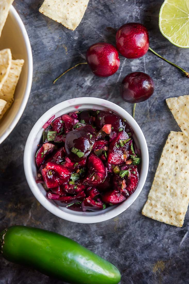 Cherry Pico de Gallo