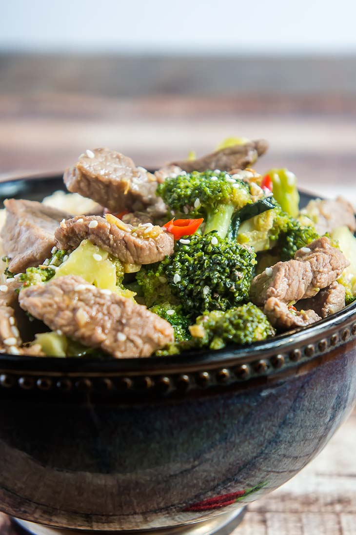 One-Pot Beef & Broccoli