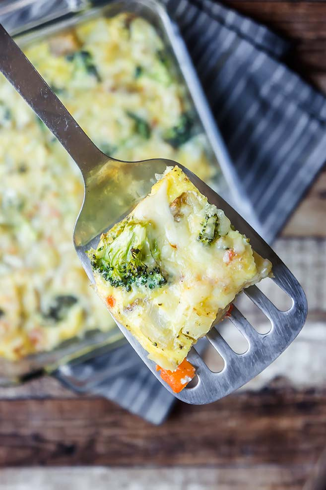 Broccoli & Pepper Jack Frittata