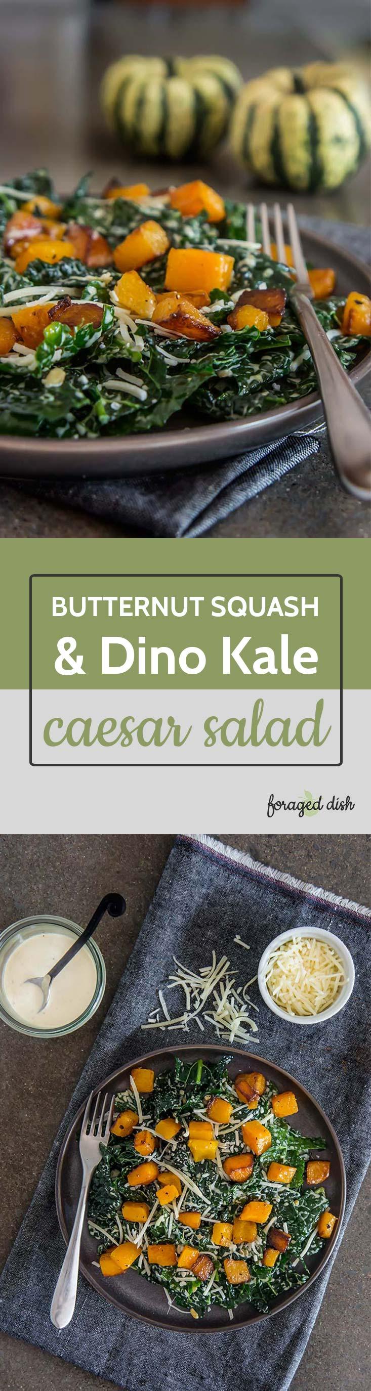 Butternut & Kale Caesar Salad