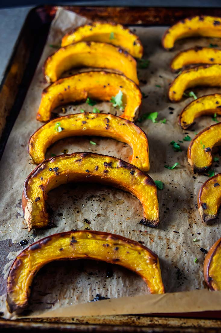 Roasted Pumpkin with Merkén Chile & Honey