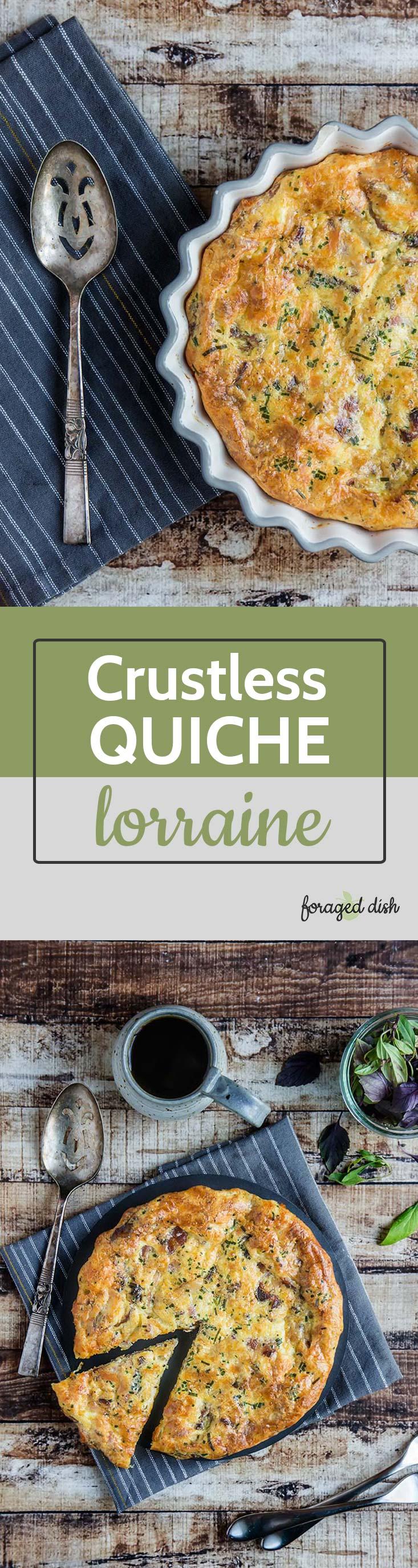 Crustless Quiche Lorraine