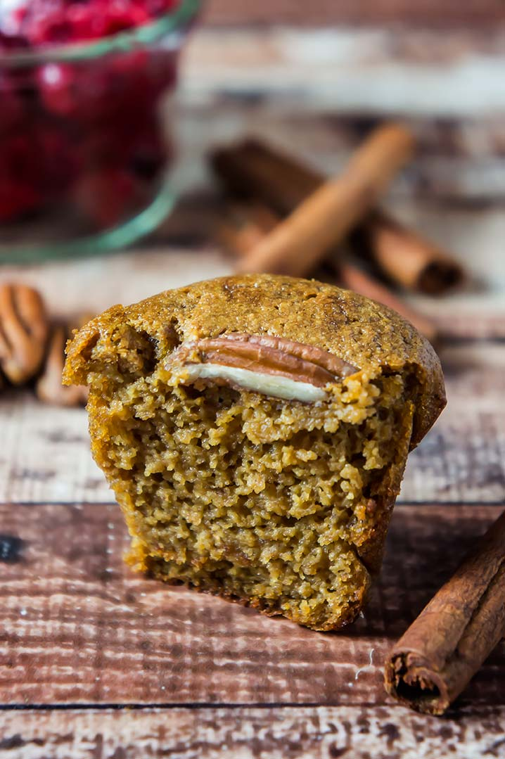 Paleo Gingerbread Muffins
