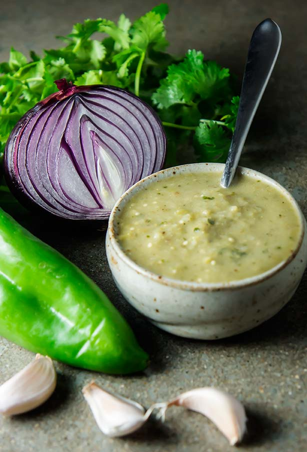 Green Chile Smother Sauce