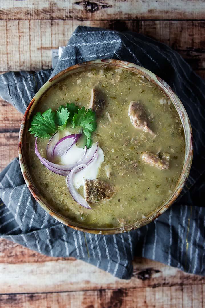 Slow Cooker Pork Chile Verde