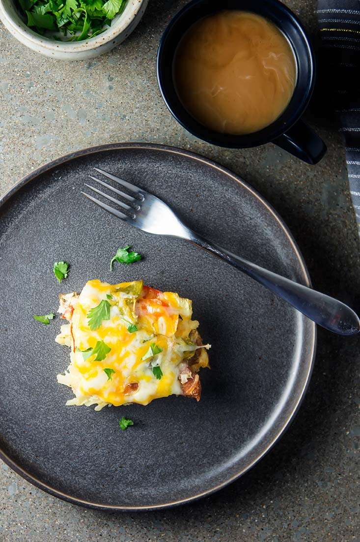 Denver Omelet Breakfast Bake