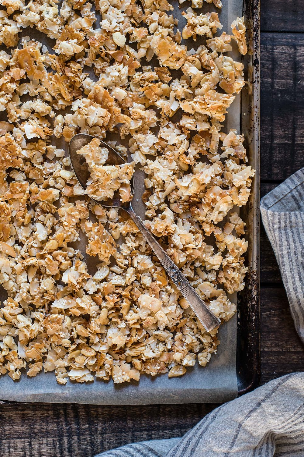 Honey Nut Coconut Clusters