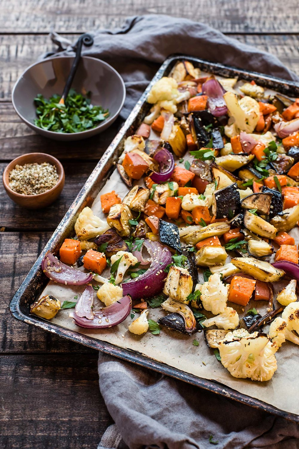 Za'atar Roasted Vegetables