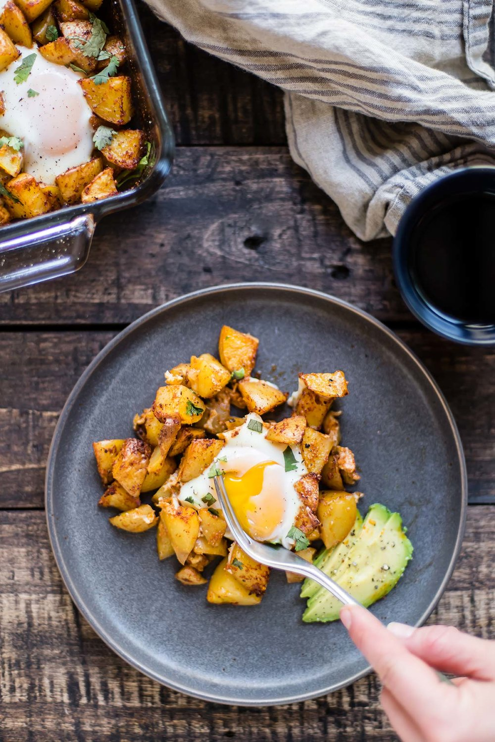 Tex-Mex Potatoes & Eggs
