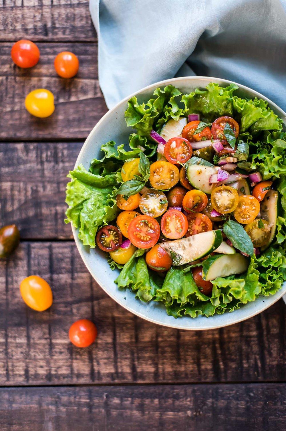 Marinated Cherry Tomato Salad