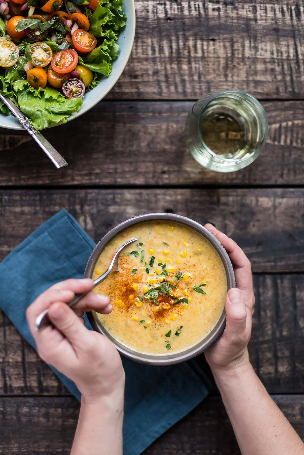 Instant Pot Corn Chowder