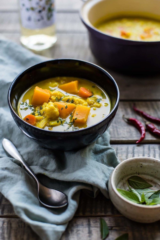 Instant Pot Butternut Squash Coconut Curry