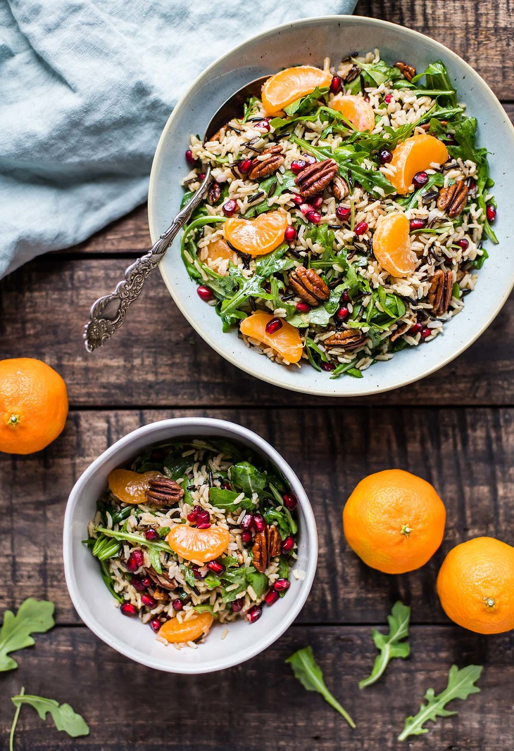 Wild Rice Salad with Satsuma Mandarins