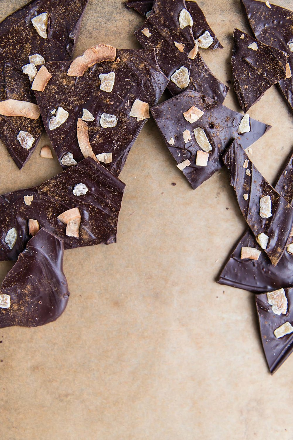Chai-Spiced Chocolate Coconut Bark