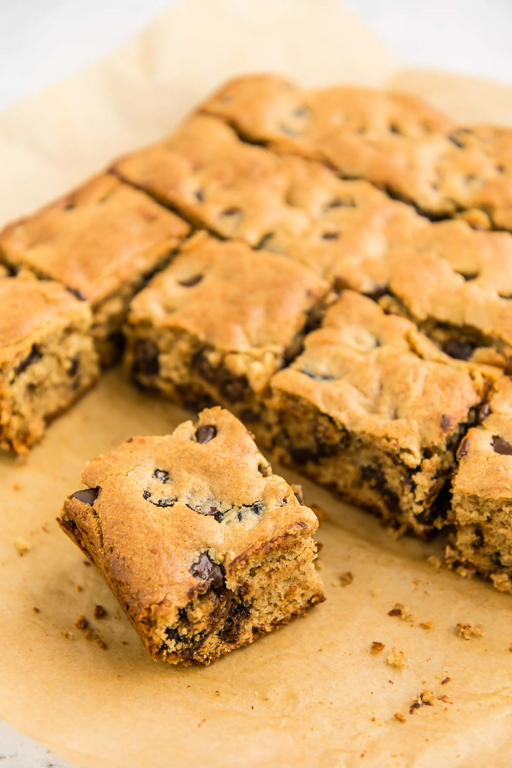 Grain-Free Chocolate Cherry Cookie Bars