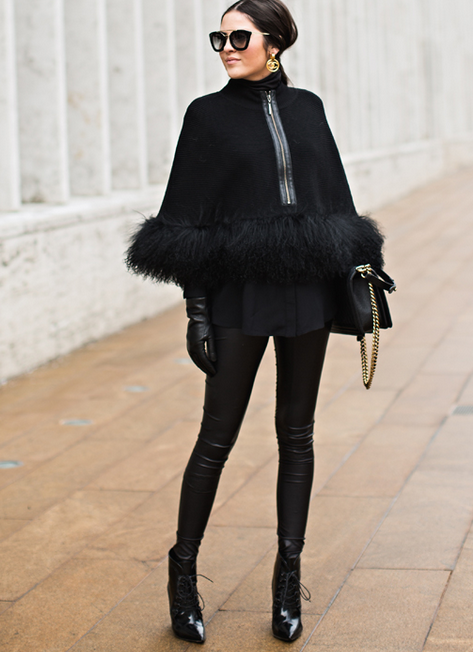 Pink Peonies On the contrary, Rach Parcell kills in this all black look.