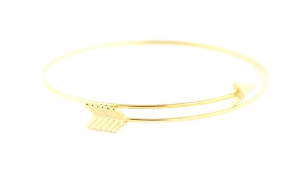 Wanderlust + Co, Arrow Split Necklace, $17.50