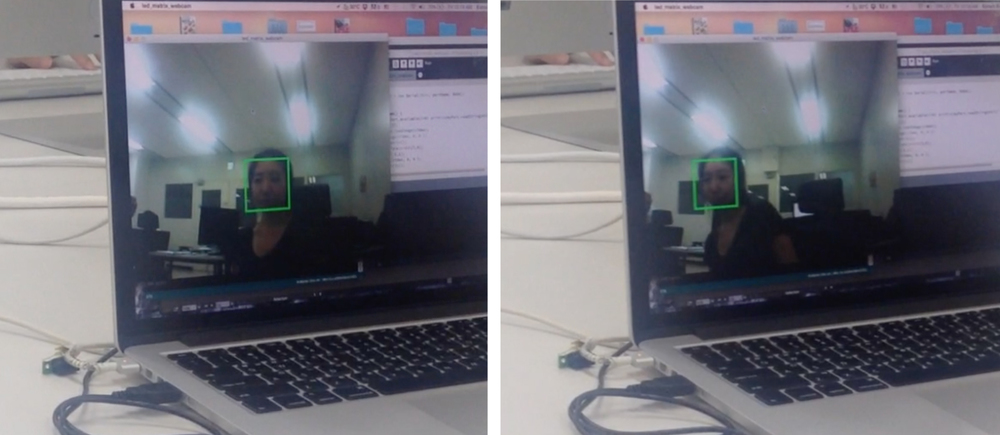 The USB camera module in high resolution showed better rate in detecting face than the one in low resolution. It still had the same problem with a cable that must be connected to a computer.