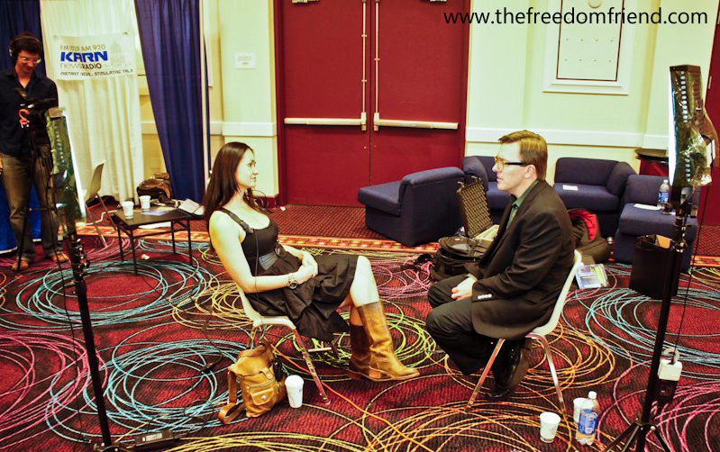 The Freedom Friend's Michelle Liberman and Matt Welch (Reason TV) discuss ideas that advanced Michelle's view on economics and society