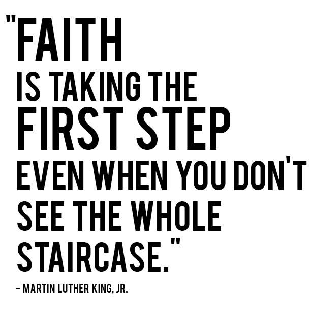 faith martin luther king