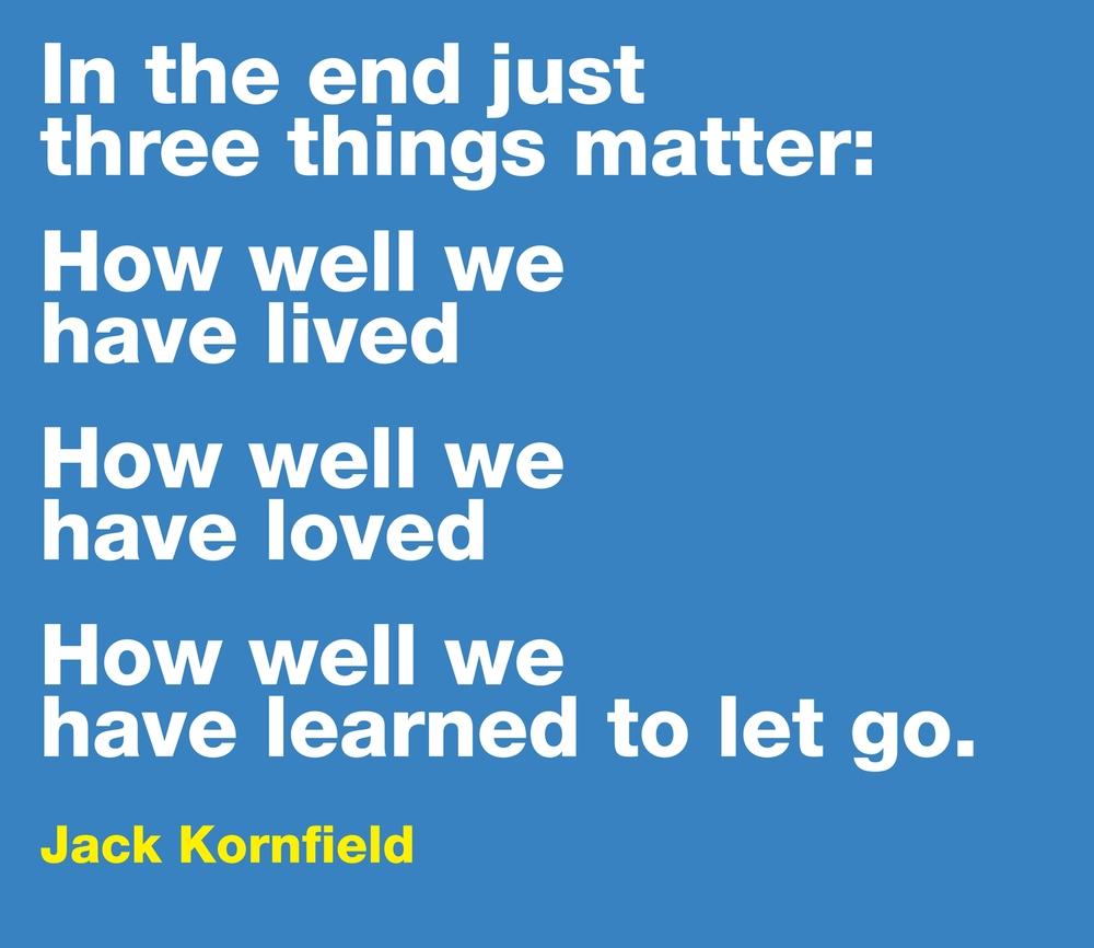 jack kornfield life matters