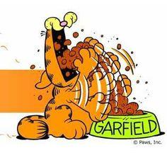 garfield is hungry
