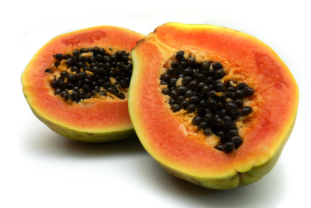 Papain, also known as papaya proteinase I, is a cysteine protease enzyme present in papaya and mountain papaya.