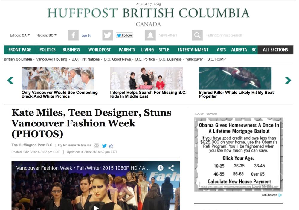 Huffington Post, Canada