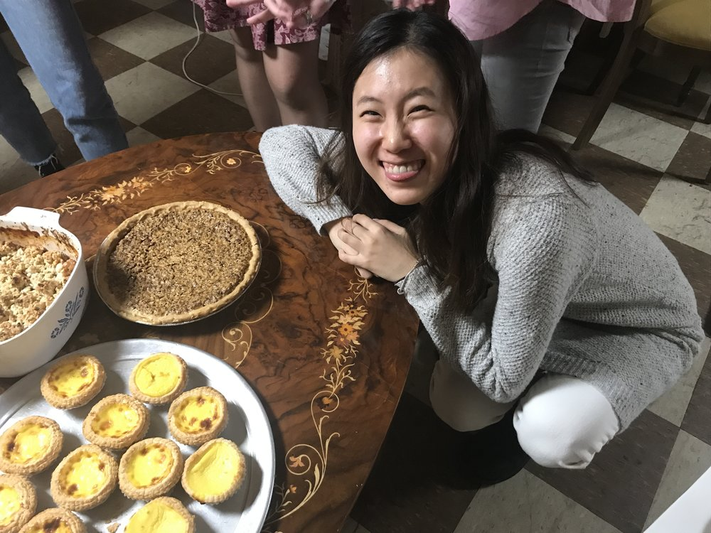 Hye and her pie!