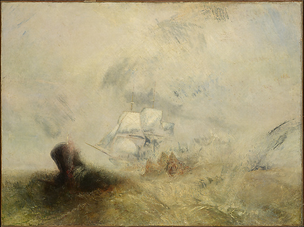 Whalers , Joseph Mallord William Turner (London 1775–1851), 1845, New York, Metropolitan