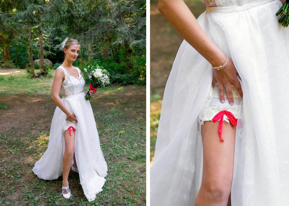 "The Garter and ""Dancing Shorts"""