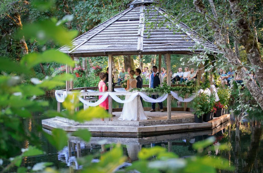 Floating Gazebo, Neal Creek Resort
