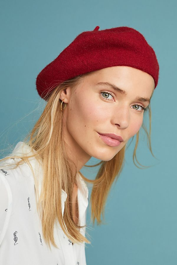 Fall Forward Beret - anthropologie $38