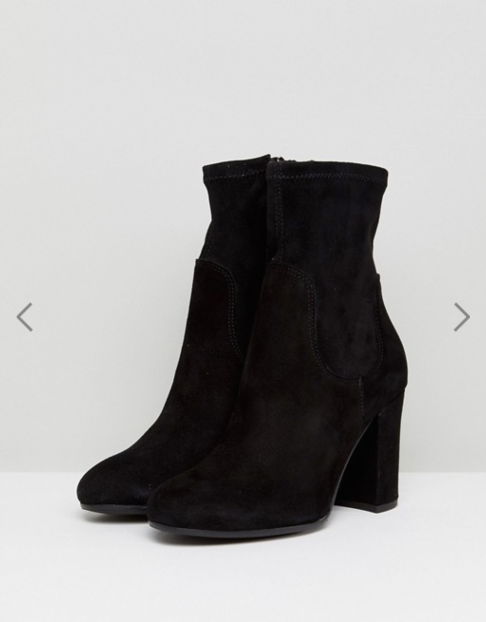 Dune London Oliah Suede Heeled Boots - ASOS