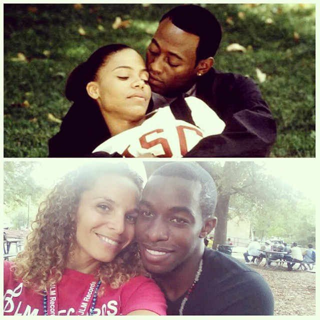Close enough right? What y'all think? #LoveAndBasketball #WeLookBetter #WellAtleastSheDoes #ForgetOmarEpps lol