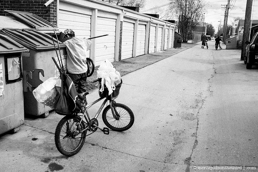 95 - Man And Trash And Bikes, Study 1 - 2014 - 05.06.14 - One A Day series