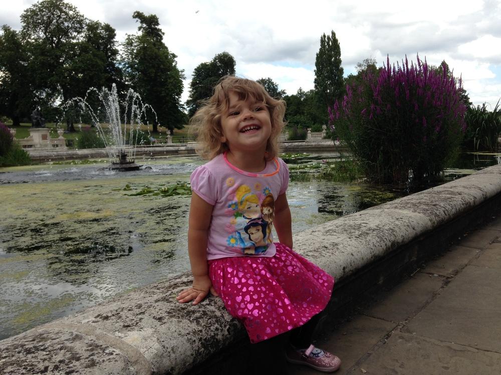 Hannah at the Italian Gardens