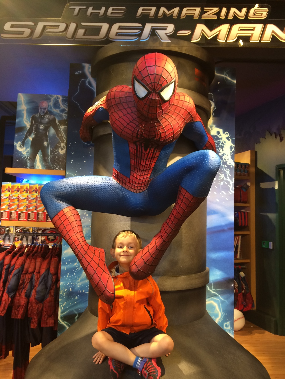 Kian & Spider-man