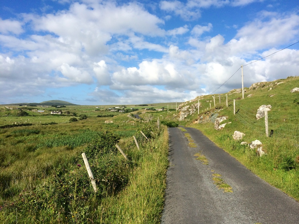 The road to Silver Strand
