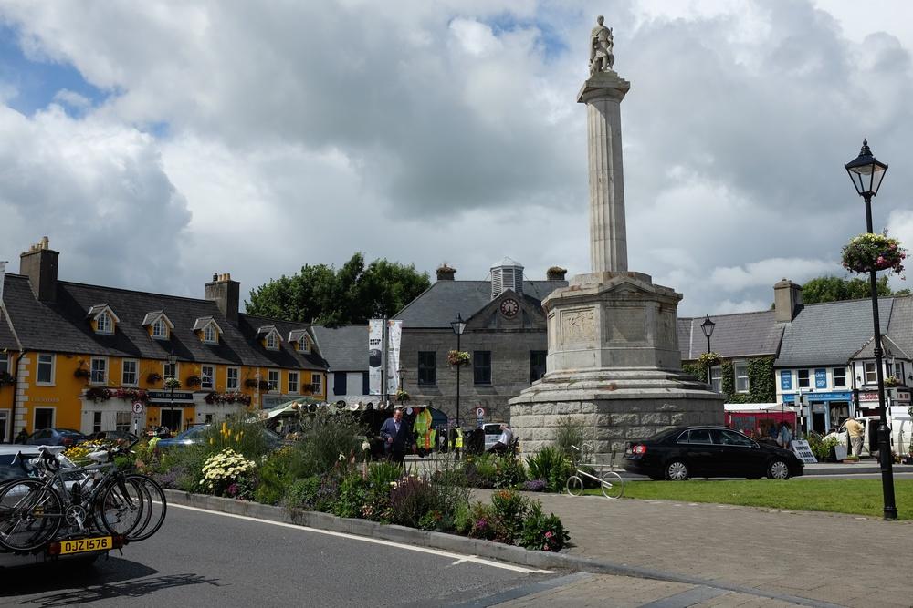 St. Patrick's statue