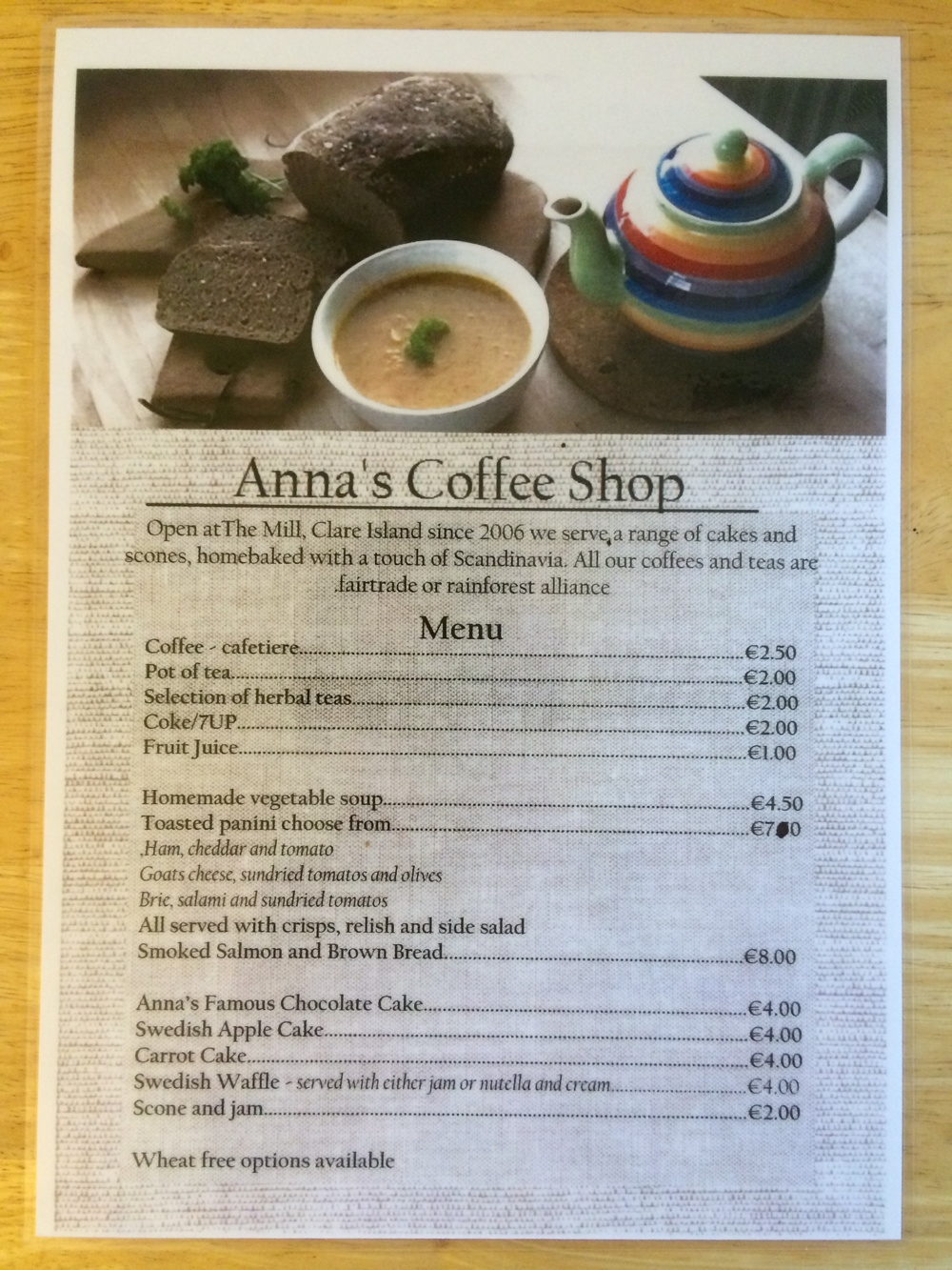 Anna's Coffee Shop