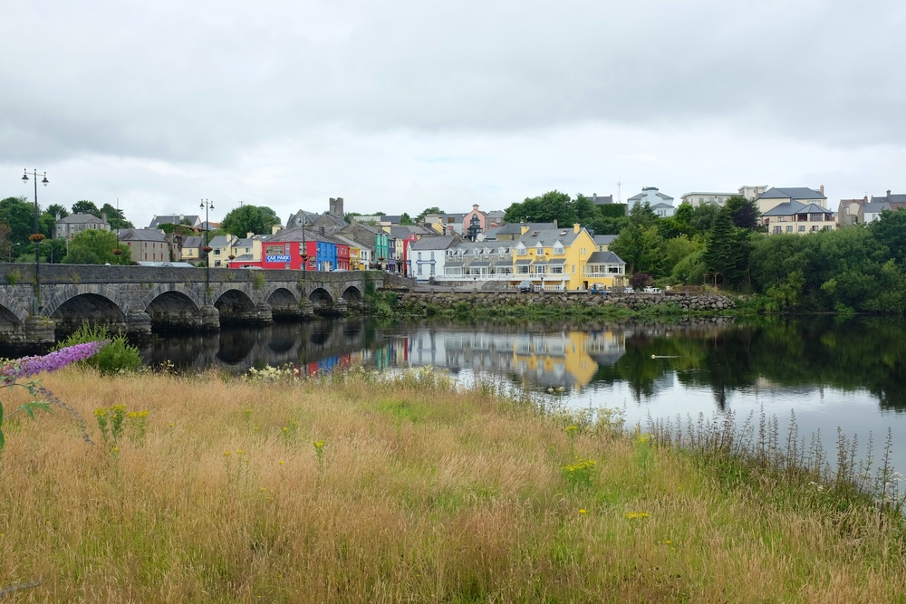 A view of the Killorglin town