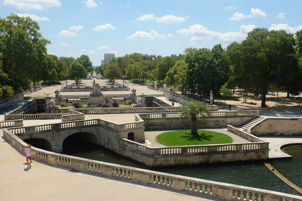 Day 42 historical nemausus nimes we chase summer - Jardin de la fontaine nimes limoges ...