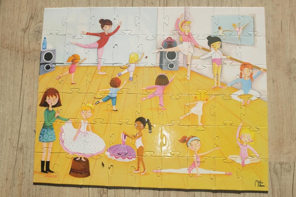Ballet Class Puzzle